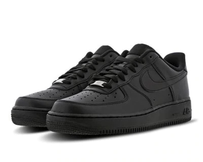All black nike air force 1