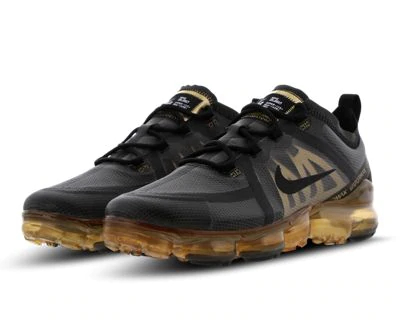 Black & Gold Nike Air Vapormax 2019