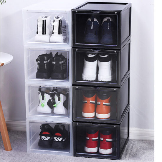 foldable-plastic-shoe-storage-box