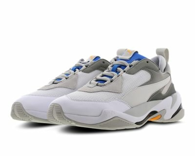 white and grey Puma Thunder Spectra