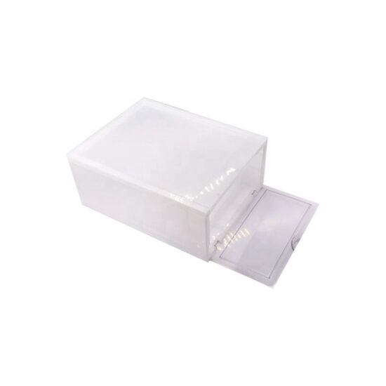 Stackable-Drop Front box-plastic-shoe